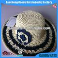 moda feminina vestido crochet chapéus para o casamento