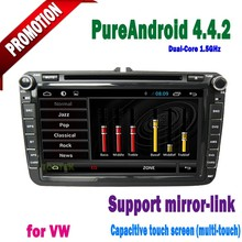 Android4.4.2 car radio dvd android vw car dvd with wifi ipod SWC OBD 3G VW series passat/ polo/ caddy/ GOLF 5...2006-2012