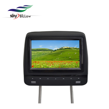 7 inch high quality touch button universal headrest monitor with fm/IR transmitter