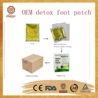 100% natural herbs Remove toxin detox foot patch with OEM providing & CE certificate