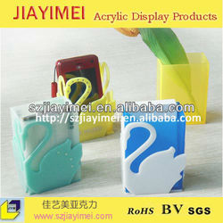 exquisite OEM acrylic business card storage box, business card tin box