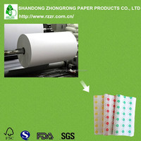 Food grade poly coated white craft paper for meat packing
