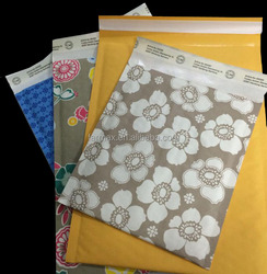 2015 Farmax popular eco friendly recyled lightweigh self-adhesive yellow kraft paper bubble padded envelop mailers for online wh