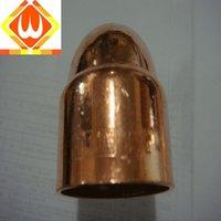 Compression fitting copper cap