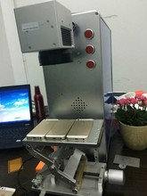 High accuracy 10w/20w fiber laser marking machine for iphone/ipad with 10 years' working time