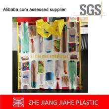Supply Eco Glossy or matt 4c Laminated PP Woven Bags