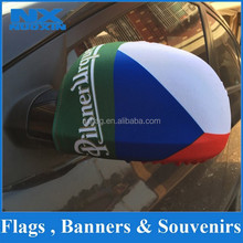 custom Car Mirror Flag Cover,hot sell Car side mirror sock,manufacture car side mirror cover