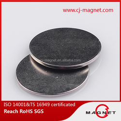 powerful N45 neodymium magnet button for leather bags