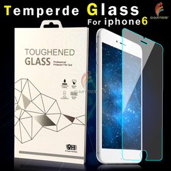 Custom mobile phone accessories 0.2mm tempered glass screen protector for iphone 6s plus screen protector