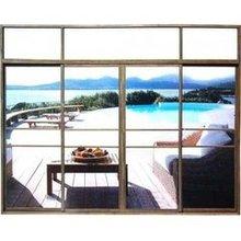 2015 Contemporary popular style cheap aluminum glass sliding window