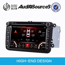 DS-811 car stereo for vw skoda octavia VW passat b6 VW polo Jetta golf 5 car multimedia with GPS navigation radio BT OPS IPAS