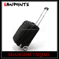 Whole sale black 20 inch trolley luggage /trolley case for best price