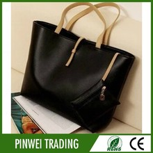 2015 woman handbag wholesale pu fashion lady handbag