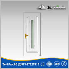 European Style High Quality White Color Interior Wooden PVC Door