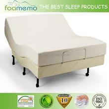 High-grade knitted fabric foam mattress for hospital bed