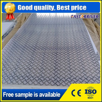 embossed aluminum checkered plate (A1100, A1200, A3003, A5052)
