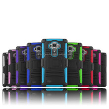 3 in1 layer holster kickstand phone case for For LG G4