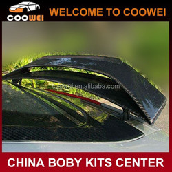 High quality carbon fiber material Caractere style 8J rear trunk spoiler for 07-10 years Audi TT