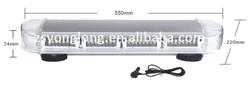 550mm Emergency Warning Mini Bar Strobe Flash Red&Blue&white Light YL161C-2