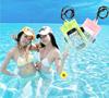 Bingo pvc waterproof phone bag with armband for phone galaxy s2 s3