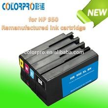 cartucho jato de tinta compatíveis para hp 950 951 reciclados cartucho de tinta para impressora hp officejet 8100 8600
