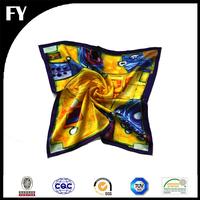 Wholesale China digital printed silk portuguese scarf