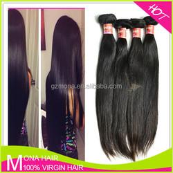 Top quality no acid no chemical peerless virgin Peruvian human hair weave/weft
