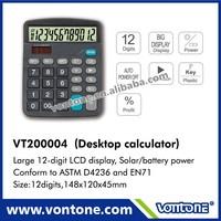 NON MOQ scientific electroinc desktop calculator
