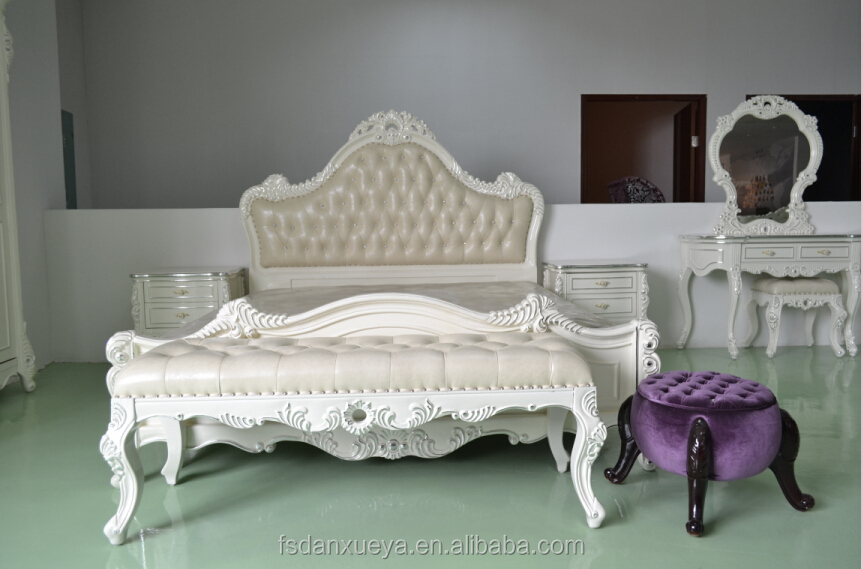 Danxueya Mirrored Bedroom Sets Furniture White Lacquer Bedroom Furniture White Bedroom