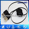 usb2.0 4pin a type male to female extender retractable usb data cable