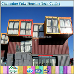2015 new design Prefabricated Container Hotel Room for sale