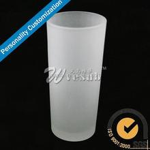 2015 Sublimation Blank Glass Beer Mugs Fashion dog shaped mugs