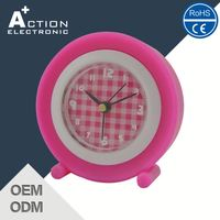 Fast Production 2016 Latest Luxury Quality Alarm Clock With Adjustable Backlight