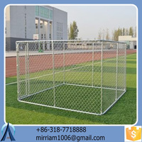 powder coating high quality metal strong dog kennels /dog cages