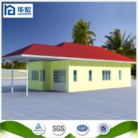 Beautiful qualified modern prefabricated beach house
