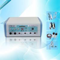 Electric hair follicle stimulator/ultrasonic face lift home use beauty equipment
