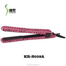 Flat iron hair straightener with zebra