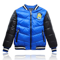 boy minions down jackets wholesale outlet children down jackets assorted colors jackets kids clothing