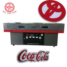 acrylic sign making machine with PMMA, ABS, PVC, PC... BX-2700