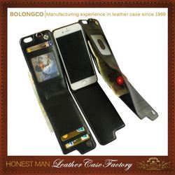 Luxurious Brand New Design Oem Service Amazing Price Holster Leather Case For Iphone 6S Plus