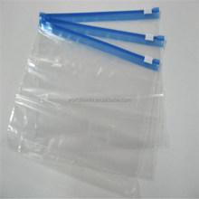 Cute loyal servant for your bedroom! Waterproof clear grip seal slider bags for socks or underware packaging