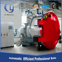 12m PLC control temperature rubber horizontal reactor