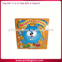 high quality childrens music button book