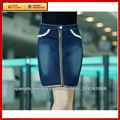 clásico vaquero medias mujeres de la cintura falda corta
