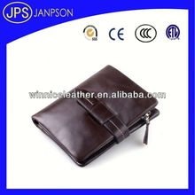 travel ticket wallets bright genuine leather mens purse clutch wallet