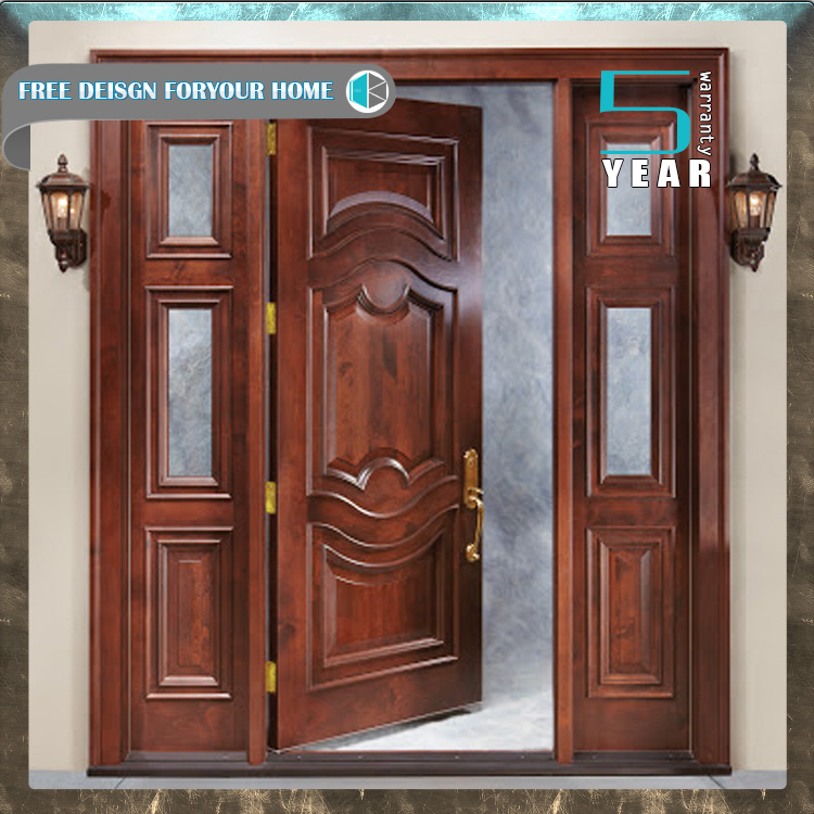 Favorable price new design american front door front for Big main door designs