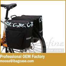 Bike Rear Seat Trunk Both Side Bag Handbag Bag bicycle pannier