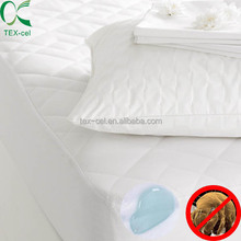 Hotel Quilted Plain Mattress Protector/Cover/ Pad