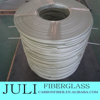 fiberglass insulation strip marble reinforced strip, 3*10mm strong flat fiberglass strips/FRP Bar