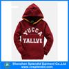 hoodies different color high quality brush fleece hoodies